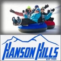 Winter Fun in Hanson Hills Recreation in Grayling Michigan