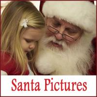 Litle Girl with Santa