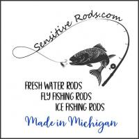 Custom Made Sensitive Rods - Made in Michigan