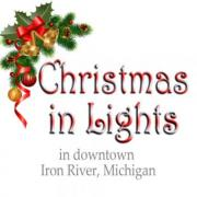 Christmas in Lights Celebration in Iron River Michigan