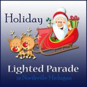 Northville Holiday Lighted Parade in Northville Michigan