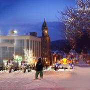 Marquette's Downtown Showdown Rail Jam