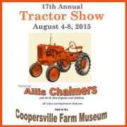 Annual Tractor Show - Coopersville