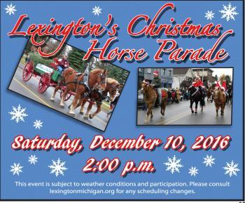 Lexington's Christmas Horse Parade