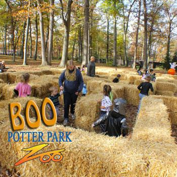 Boo at the Zoo at Potter Park Zoo in Lansing Michigan