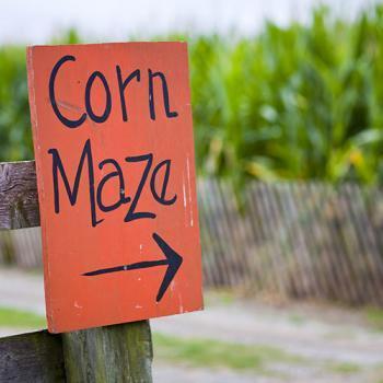 Loud Acres Corn Maze in Crystal Falls Michigan