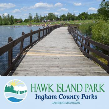 Hawk Island Park in Lansing Michigan