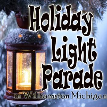Holiday Light Parade in Williamston Michigan