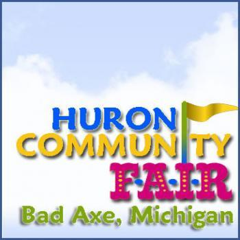 Huron Community Fair in Bad Axe Michigan