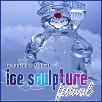 Tecumseh's Annual Ice Sculpture Festival