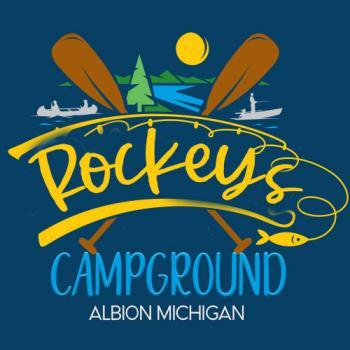Rockey's Campground on Chain Of Five Lakes. Located On Silvers Lake in Albion Michigan