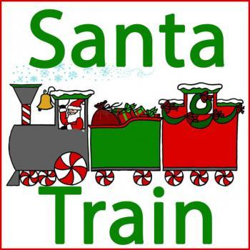 Santa Train in Lake Linden