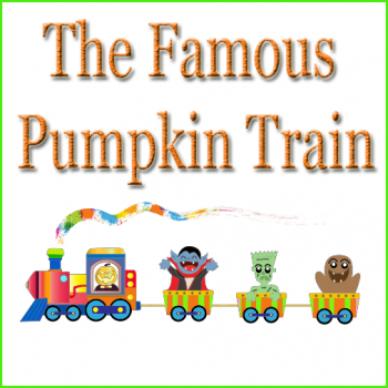 The Famous Pumpkin Train in Coopersville Michigan