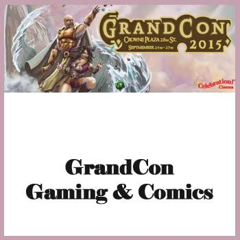 GrandCon Gaming & Comics - Grand Rapids