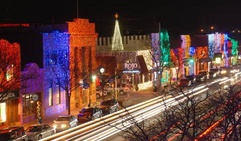 The Big Bright Light Show in Rochester Michigan at Christmas