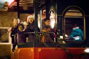 Winter Snow Fun Holiday Parade & Tree Lighting in Marquette Michigan