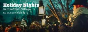 greenfield village holiday nights 2020