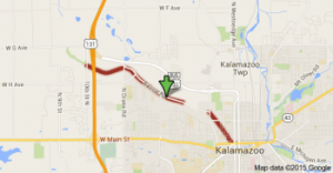 2015 Map of Kalamazoo River Valley Trail