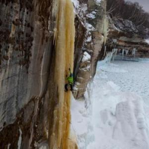 Michigan IceFest in Munising, MI