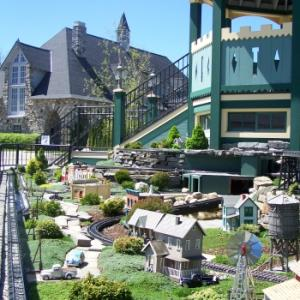 Castle Farms Outdoor Model Railroad