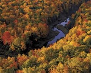 Porcupine Mountains in Ontonagon Michigan