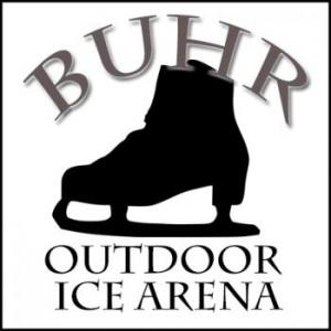 Buhr Park Outdoor Ice Arena in Ann Arbor Michigan