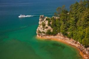 Pictured Rocks Cruises in Munising Michigan