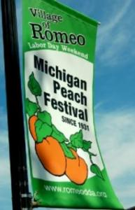 Romeo Peach Festival, Romeo Michigan