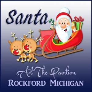 Santa at the Pavilion