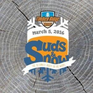 Suds & Snow at Timber Ridge RV Resort in Traverse City Michigan