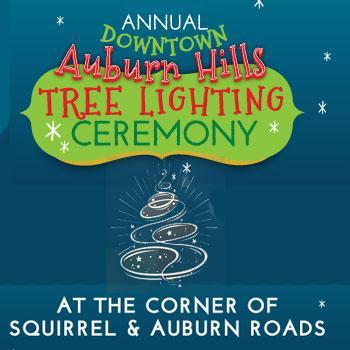 Auburn Hills Annual Tree Lighting Ceremony Auburn Hills Michigan