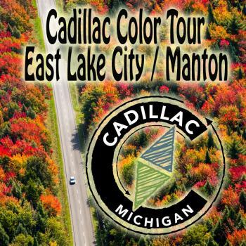 Cadillac Fall Color tour East Lake City / Manton