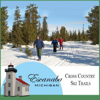 Cross Country Ski Trails in Escanaba Michigan