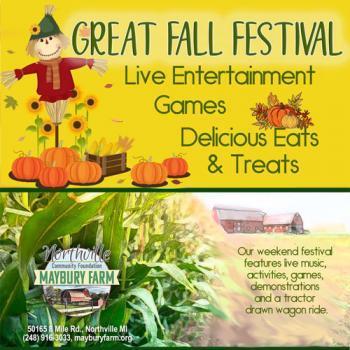 Great Fall Festival Maybury Farm Northville Michigan 48168