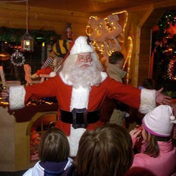 Santa at Bonners