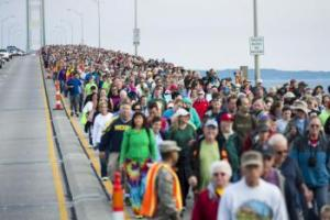 Annual Mackinac Bridge Walk