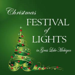Grass Lake Christmas Festival of Lights in Grass Lake Michigan