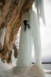 Michigan IceFest in Munising, MI