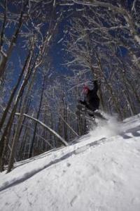 Skiing at Nubs Nob Ski Area Harbor Springs Michigan