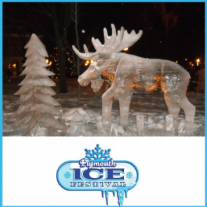 Plymouth's Annual  Ice Festival in Plymoth Michigan