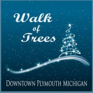 Walk of Trees in Kellogg Park Downtown Plymouth