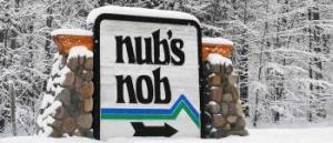 Nubs Nob Ski Area Resort Sign