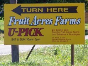 Fruit Acres Farm Market & U-Pick